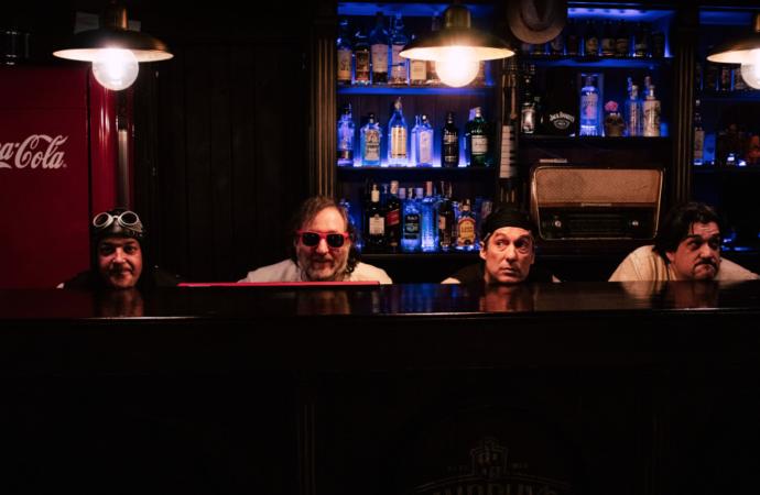 Sale a la luz «Vámonos al bar», lo nuevo de «La banda del capitán inhumano», liderada por el alcalaíno Santi Sánchez