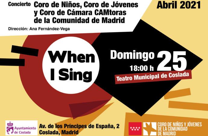 Coslada acogerá un concierto del Coro de Niños y Jóvenes de la Comunidad de Madrid y del Coro de Cámara Camtora