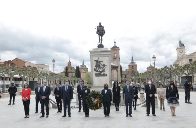 23 de abril: día grande en Alcalá con homenajes a Cervantes