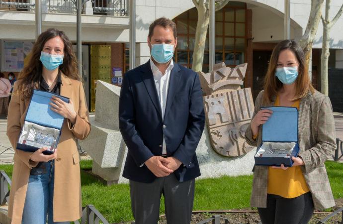 Las enfermeras Berta Ramos e Irene Pérez del Hospital de Torrejón premiadas por su trabajo durante la pandemia