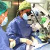 Se cumplen 9 años desde el primer trasplante de córnea en el Hospital de Torrejón