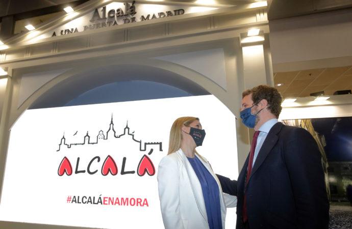 FITUR Día de Alcalá: Pablo Casado, Reyes Maroto, Promoción Gastronómica y Deportiva…