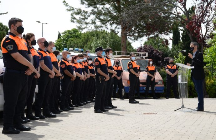 Nueva sede de Protección Civil de Alcalá de Henares junto a la antigua fábrica GAL