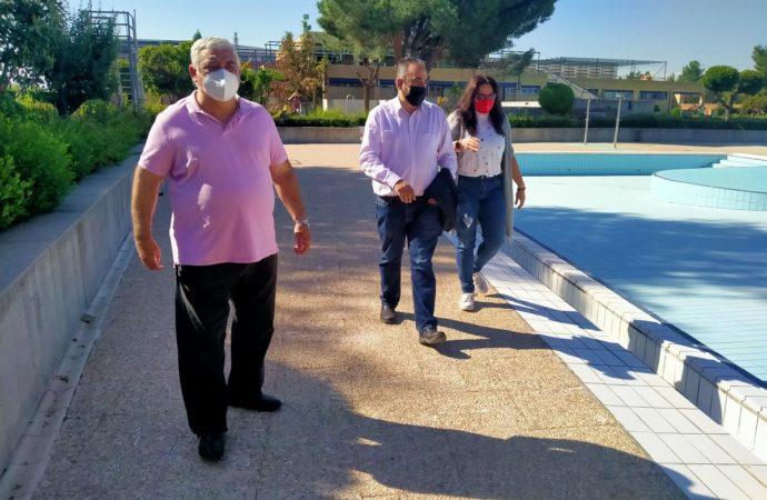 San Fernando acomete obras en las piscinas para tenerlas a punto en el mes de junio