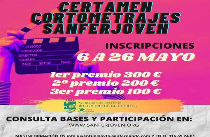 Abierto el plazo de inscripción del Certamen de Cortometrajes 'SanferJoven'