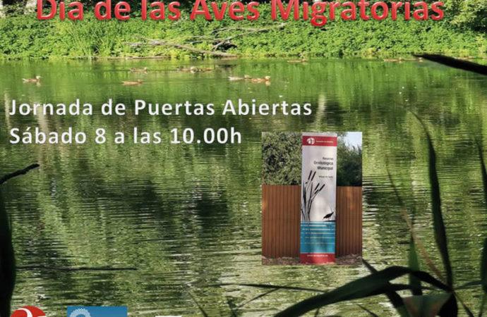 Azuqueca celebrará el sábado el 'Día de las aves migratorias' con una jornada de puertas abiertas en la Reserva Ornitológica Municipal