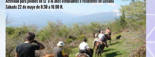 Coslada organiza una ruta a caballo en la Sierra de Madrid dirigida a jóvenes de entre 12 y 18 años