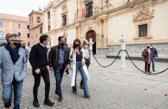 4M Elecciones / Edmundo Bal (Ciudadanos) visita Alcalá en precampaña electoral