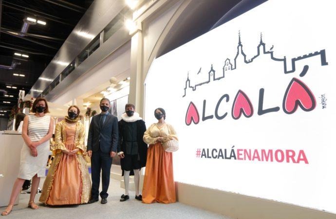 Arranca FITUR 2021: Alcalá de Henarespresenta sus bondades turísticas con nueva imagen y nuevas propuestas