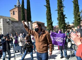 4M Elecciones / Pablo Iglesias y Alberto Garzón piden el voto para Unidas Podemos en Alcalá
