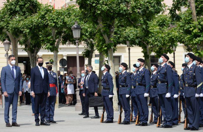 Pedro Sánchez y Mateus Morawiecki celebran enAlcalá de Henares la XIII Cumbre entre España y Polonia
