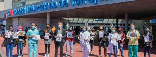 Regalos para los niños del hospital de Torrejón con motivo del «Día del Niño Hospitalizado» el 13 de mayo