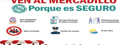San Fernando promociona su mercadillo con una campaña con cartelería y en redes sociales