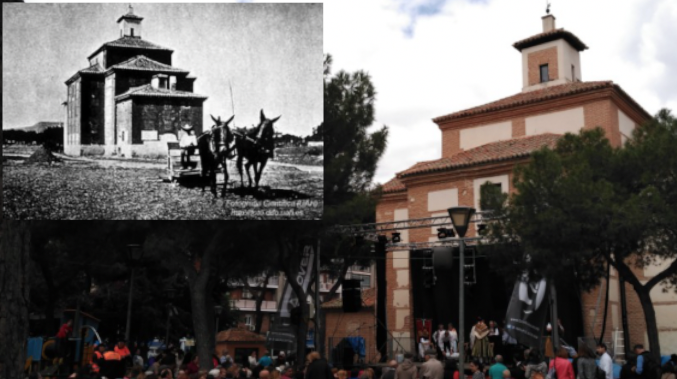 15M / San Isidro en Alcalá: cuando se trillaba en la era junto a la ermita