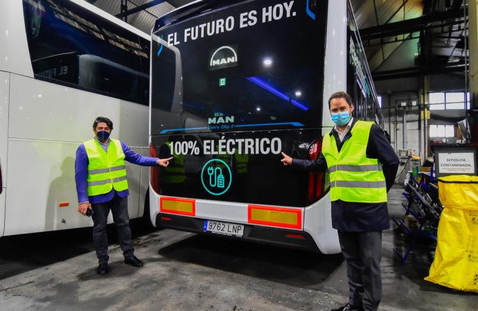 Torrejón dispone del primer autobús de España que funciona con hidrógeno
