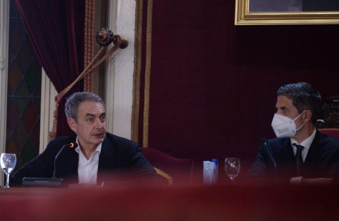 El ex Presidente del Gobierno, Rodríguez Zapatero, pone en valor la figura de Azaña en Alcalá de Henares