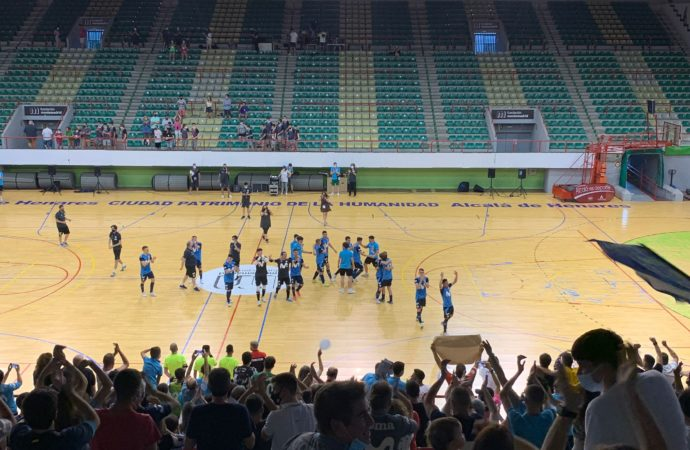 Histórico ascenso del Club Movistar Inter Futsal B a Segunda División