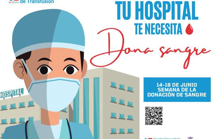 """Este lunes comienza en Torrejón la campaña de donación de sangre """"Tu Hospital te necesita. Dona sangre"""""""