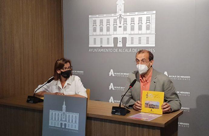 La Orquesta Ciudad de Alcalá edita un libro con motivo de su 25 Aniversario