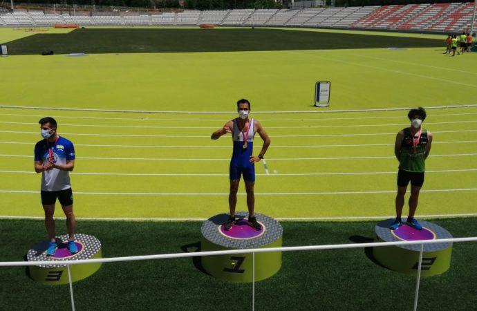 Atletismo: 3 podios del Ajalkalá en el Campeonato de Madrid Absoluto y una llamada de la selección madrileña