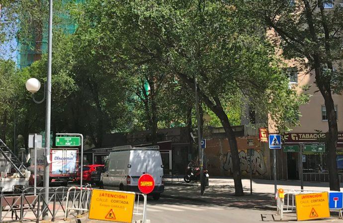 Desvío de varias líneas de autobús en Coslada por las obras de renovación de un colector del Canal de Isabel II