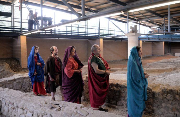 La Casa de Hippolytus de Alcalá, escenario de una recreación teatral romana