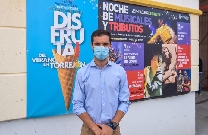 «Disfruta del Verano en Torrejón» arranca este viernes con un tributo a Queen