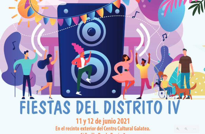 Música, danza y juegos en las fiestas del Distrito IV este fin de semana en Alcalá