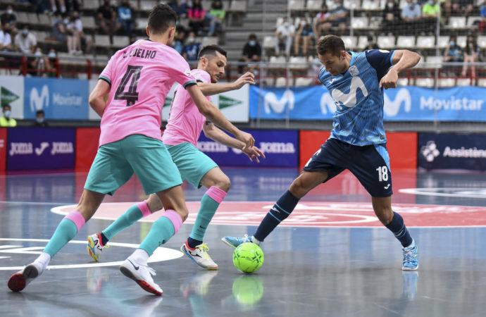 El Movistar Inter se juega este miércoles el pase a semifinales del playoff por el título de Liga