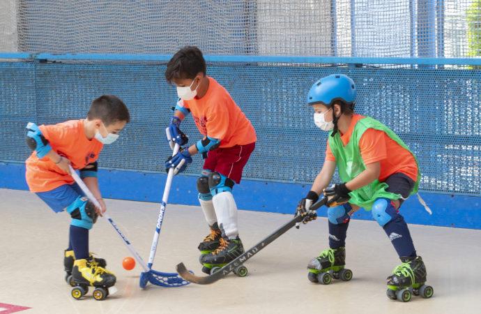 II Torneo de Hockey base «José María de Diego» en Alcalá de Henares