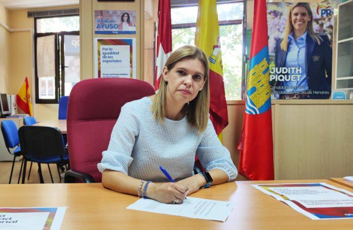 Partido Popular de Alcalá: recogida de firmas contra los indultos del Gobierno de Sánchez