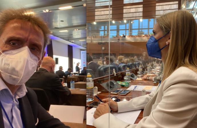 Los alcalaínos Judith Piquet (PP) y Fernando Fernandez Lara (PSOE), ya son nuevos diputados regionales