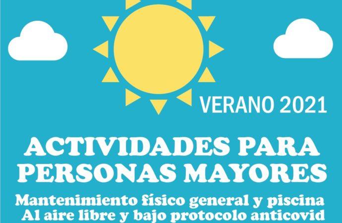 Las actividades para mayores de San Fernando comenzarán a partir del 5 de julio
