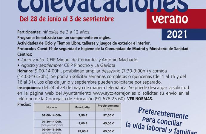 Llegan las Colevacaciones y los campamentos Torrejón con una amplia oferta de ocio para los escolares