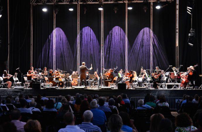 La Orquesta Ciudad de Alcalá ofreció un gran concierto en la Huerta del Palacio Arzobispal
