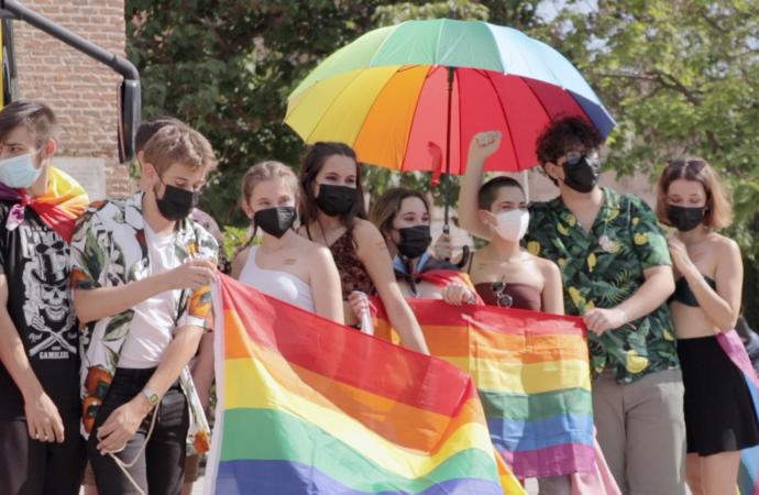En marcha los actos del Orgullo 2021 en Alcalá que se celebrarán hasta el 26 de junio