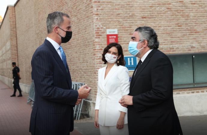 El Rey Felipe VI preside el II Foro Económico de Expansión en el Parador de Alcalá con nombres como Ana Botín, Aznar, Carlos Slim, Ayuso…
