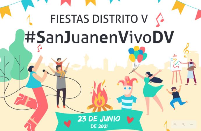 El Distrito V de Alcalá celebra este miércoles 23 las Fiestas de San Juan