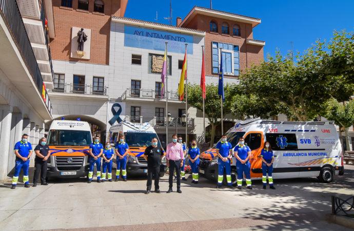 Una nueva Ambulancia Municipal prestará servicio en Torrejón 24 horas y todos los días del año