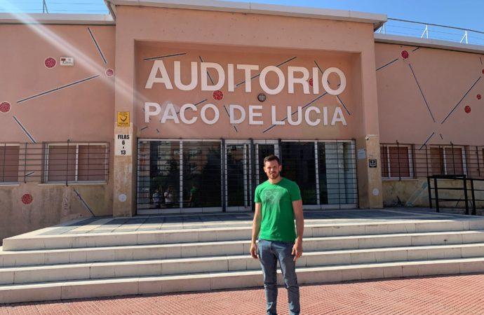 Comienzan las obras de renovación integral del Auditorio Paco de Lucía en Alcalá