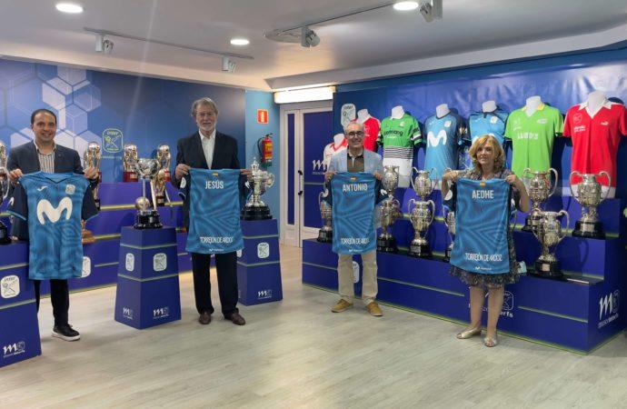 Fútbol Sala: AEDHE y Movistar Inter renuevan acuerdo de colaboración