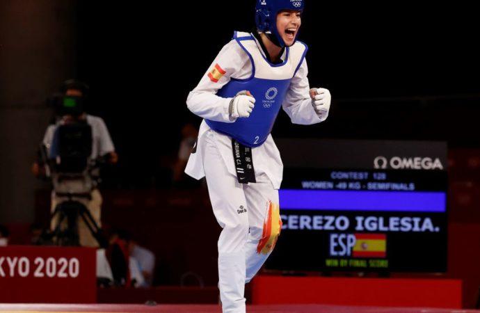 La alcalaína Adriana Cerezo hace historia al lograr la medalla de plata de Taekwondo en los Juegos Olímpicos de Tokio 2020