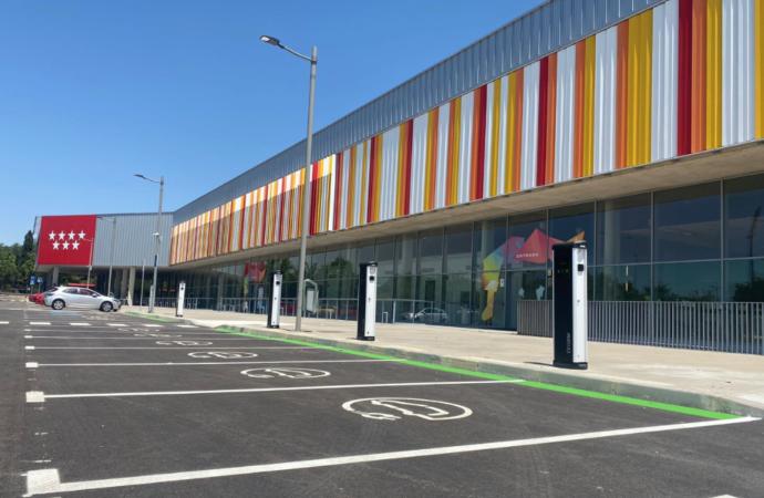 Más plazas para el aparcamiento del Complejo Deportivo Espartales en Alcalá de Henares