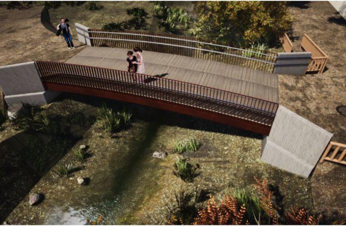 Los vecinos de «El Olivar» podrán cruzar el arroyo Camarmillaen Alcalá por una nueva pasarela