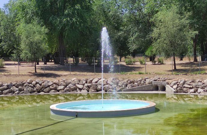 Nuevas actuaciones de mejora en el Gran Parque de Espartales en Alcalá de Henares