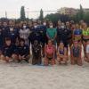 Azuqueca acoge el entrenamiento de las selecciones absolutas de Balonmano Playa de Italia