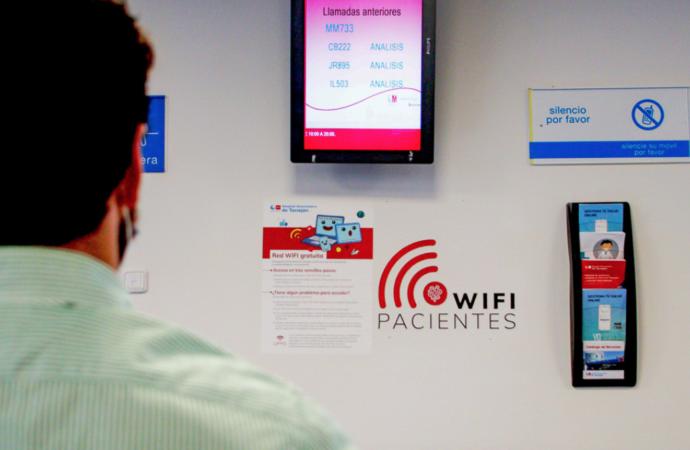 El Hospital Universitario de Torrejón ya ofrece wifi gratuito y abierto para pacientes