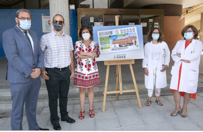 El Hospital de Guadalajara protagoniza el cupón de la ONCE del sorteo del jueves 12 de agosto
