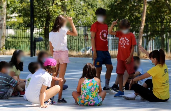 Continúa desarrollándose el programa Coslada Juega en Verano 2021 en 6 centros educativos