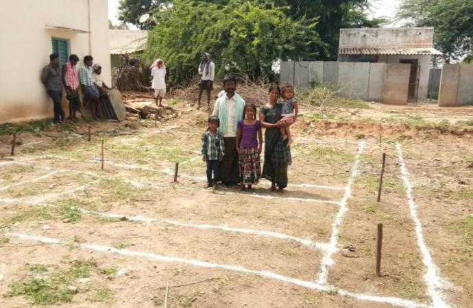 San Fernando de Henares y la Fundación Vicente Ferrer trabajan para habilitar una colonia de viviendas en la India